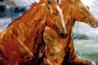 Dravende Paarden - Jan de Haas