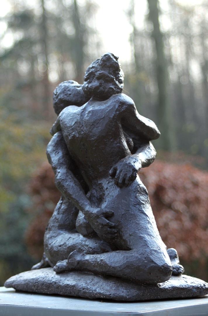 Beeld - De Kus - Jan de Haas